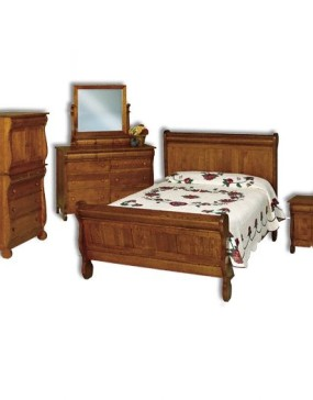 Old Classic Sleigh Open Nightstand