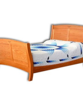 Classic Shaker Sleigh Panel Bed