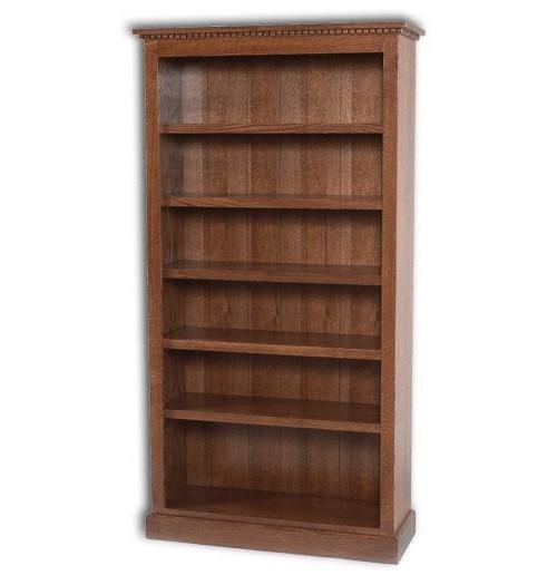 Plain Mission Open Bookcase