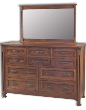 Parker Mission 10 Drawer Dresser
