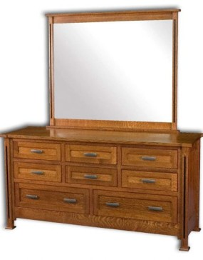 Parker Mission 8 Drawer Dresser