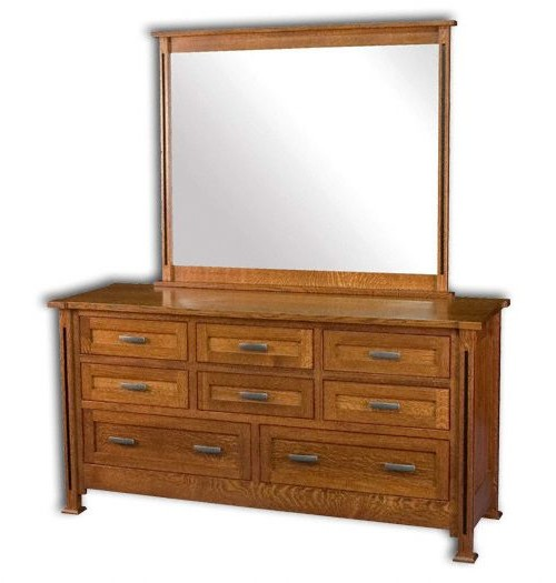 Parker Mission 8 Drawer Dresser