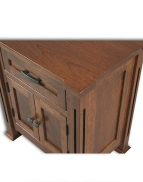 Parker Mission 3-Drawer Nightstand