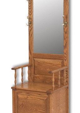 Raised Panel Hall Seat