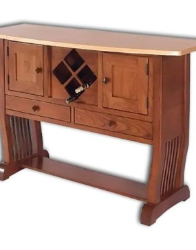 Royal Mission Sideboard with Wine Rack