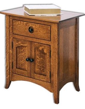Shaker Hill 1-Drawer 2-Door Nightstand