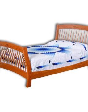 Classic Shaker Slat Bed