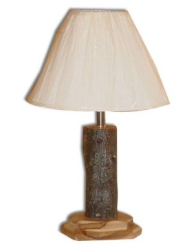 Rustic Hickory Table Lamp