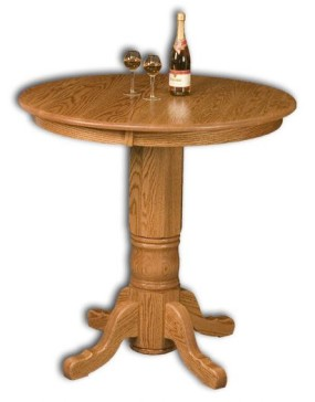 Traditional Pedestal Pub Table