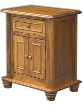 Woodbury 2-Door 1-Drawer Nightstand