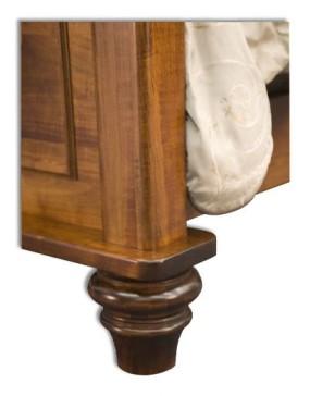 Woodbury Panel Bed