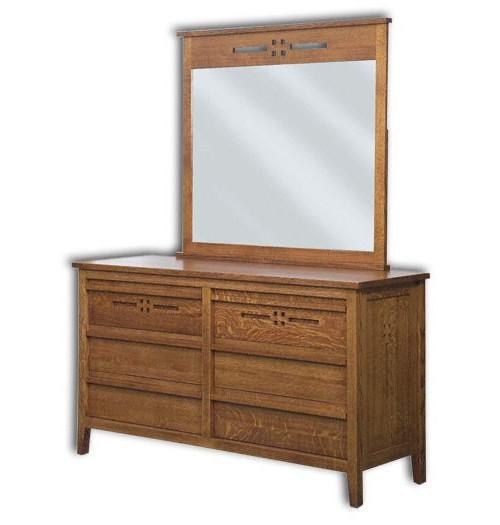 """West Village 63"""" Dresser, 6 Drawer"""