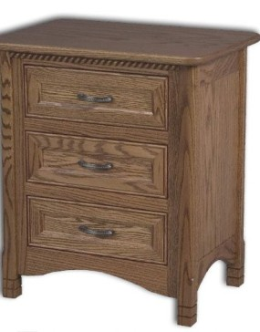 West Lake 3 Drawer Nightstand