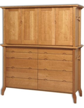 Grand River Double Armoire Mule Chest